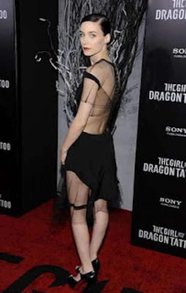 Rooney Mara The Little Black dress