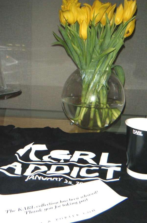 Karl addict t-shirt