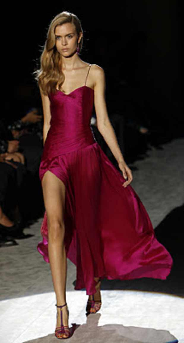 Magenta Pink Gown