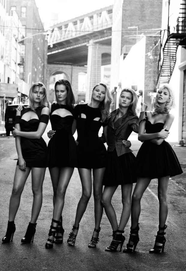 Little Black Dress Models