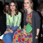 London Fashion Week 2012 Front Row Olivia Palermo