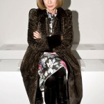 London Fashion Week 2012 Front Row Anna Wintour