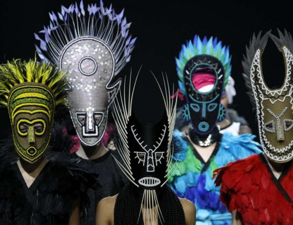 Russian Designer masks for Halloween