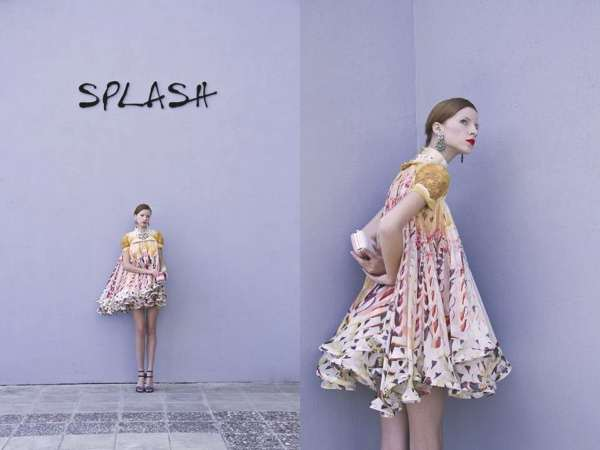 Cake a Flake dress available at Splash City in Limassol! Shot by Filep Motwary ©