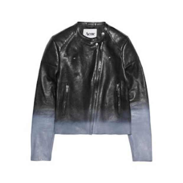 Acne Black Leather jacket