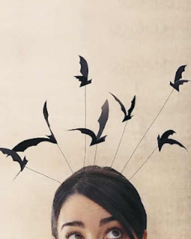Bat Headband.