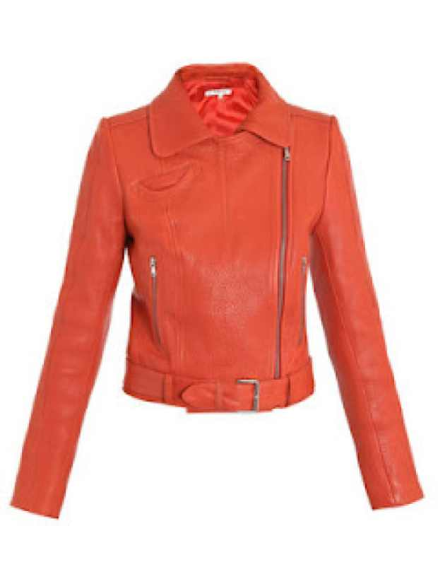 Carven orange jacket