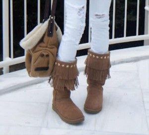 Jimmy Choo Uggs and Ugg Handbag