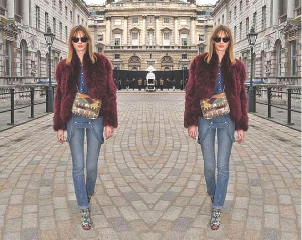 London Fashion week, celebrity street style