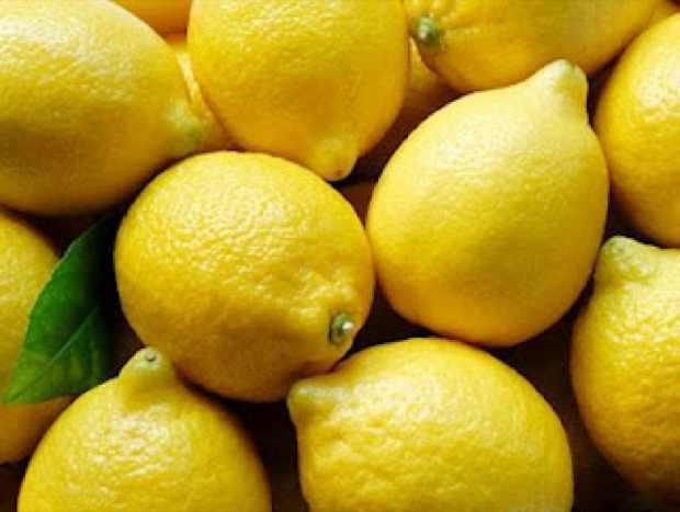 lemons yellow