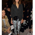London Fashion Week 2012 Front Row Alexa Chung