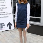 London Fashion Week 2012 Street style Alexa Chung