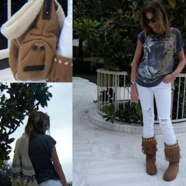 How I wore my Jimmy Choo Uggs