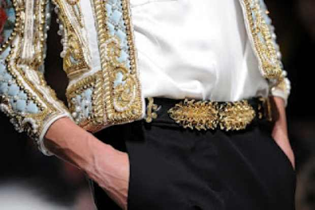 Balmain Fall 2012 The statement Jacket