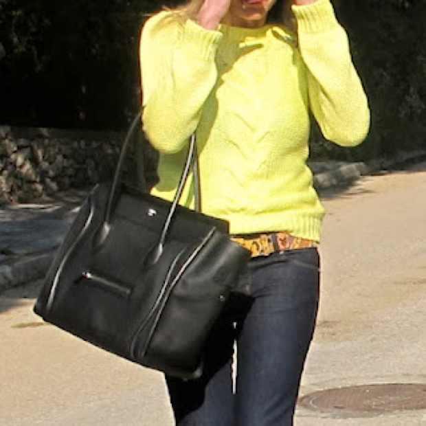 Celine Black Luggage Bag