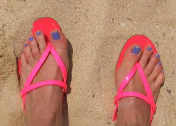 Miu Miu Neon Pink Sandals