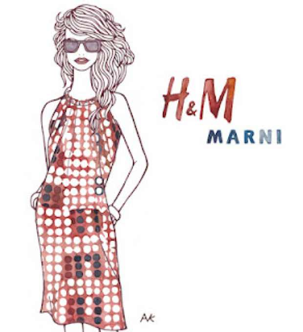 AKIKO Illustration Marni dress