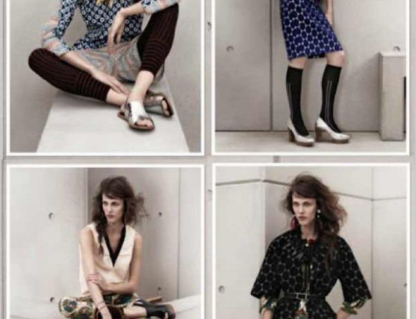Marni for H and M Collage