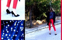 My Lookbook : How I wore my red cropped pants?
