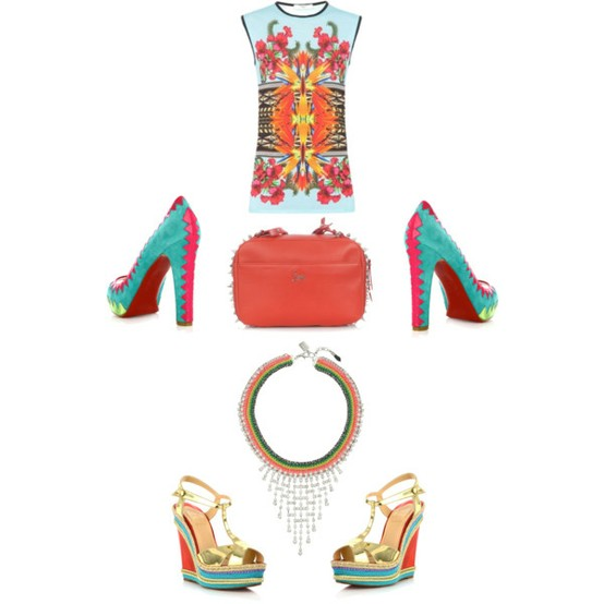 Multicolored accessories