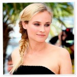 Diane Kruger Fishtail braid hair