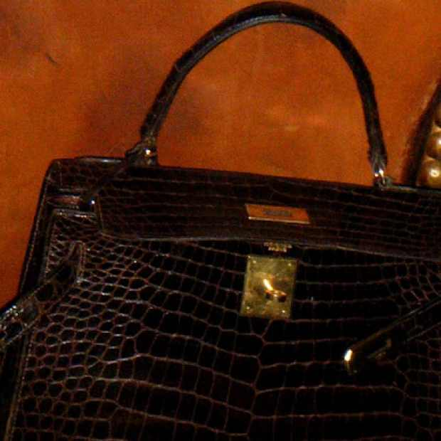 Hermes Croco Handbag Jo Wood