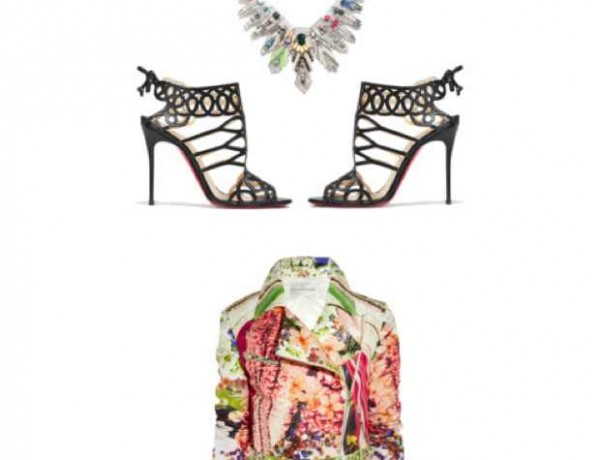 Mary Katrantzou Collage floral jacket