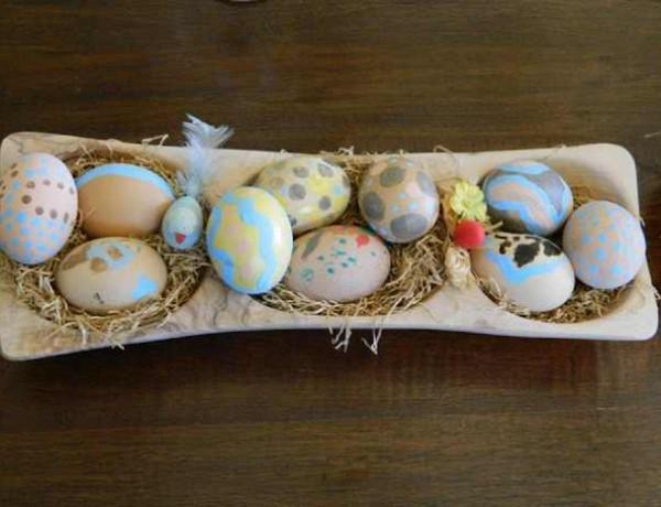 Paros, Makria Miti, Luxury Villa easter eggs