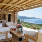 Paros, Makria Miti, Luxury Villa veranda
