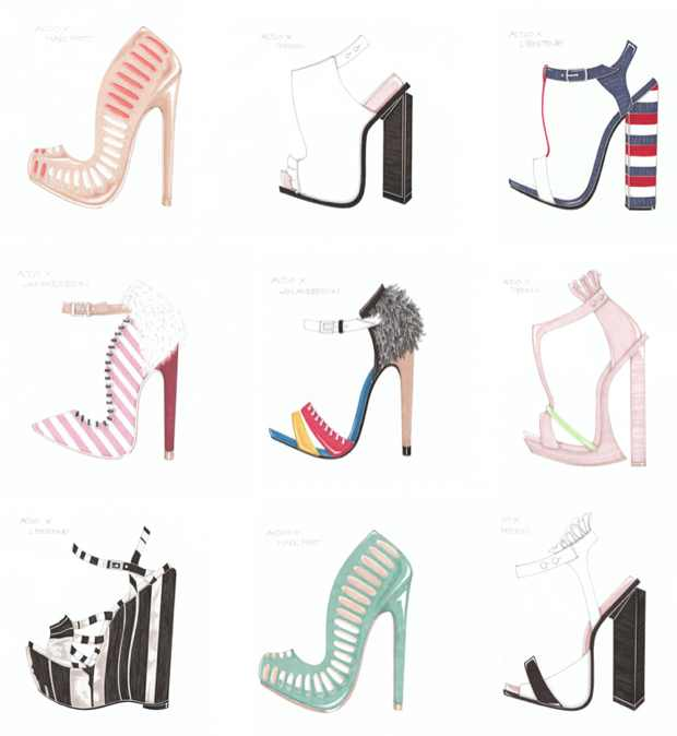 aldo sketches Aldo Exclusive.Designs