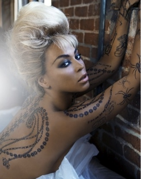 beyonce temporary tattoo