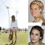 Celebrity Hairstyle Boho chic Braids Alexa Chung