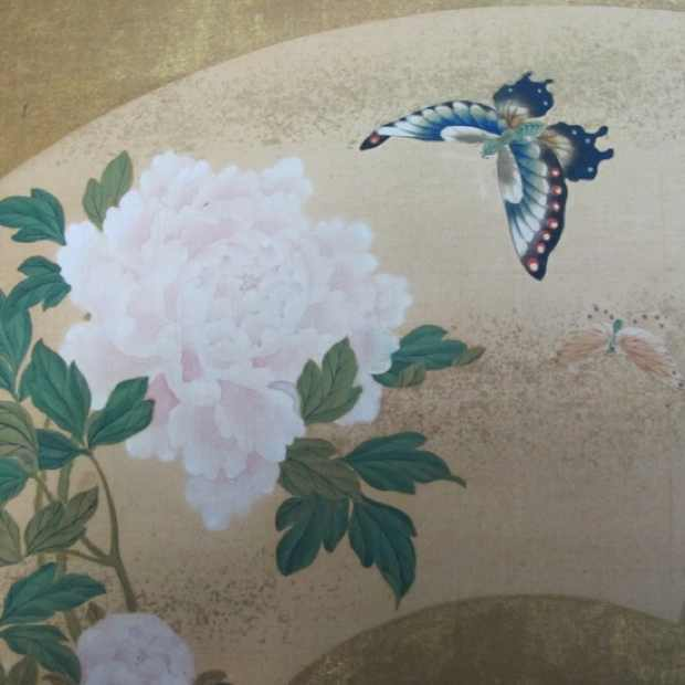 Japanese paintings, flowers and birds, inspiration tattoo