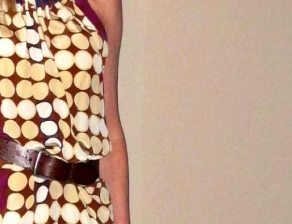Marni H and M Silk  dress dots