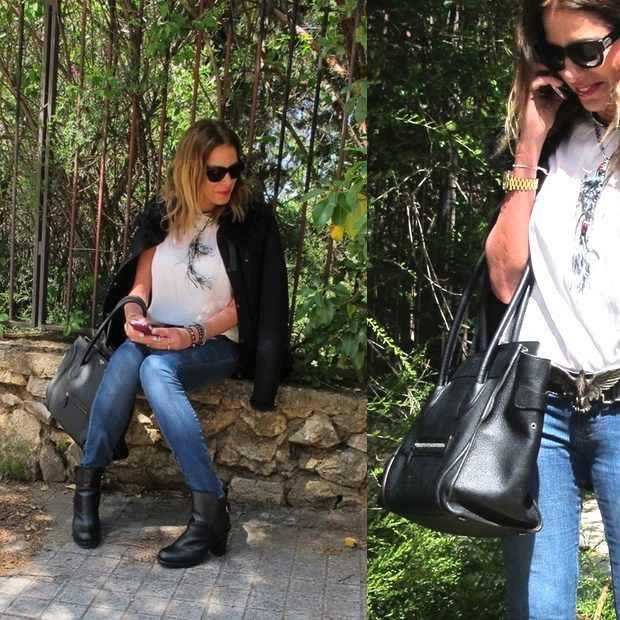 Nina Papaioannou, Jeans casual outfit