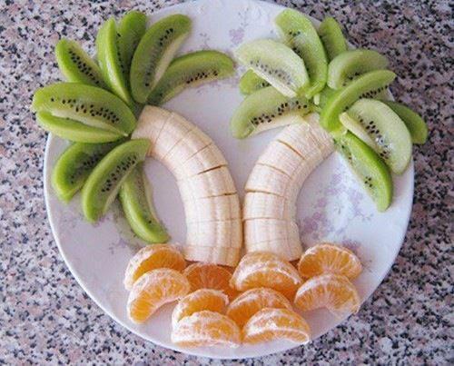 Banana Kiwi Mandarin