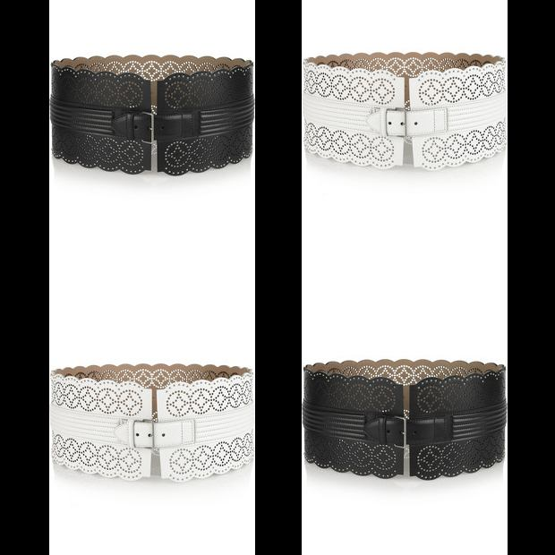 Alaia Belt Collage