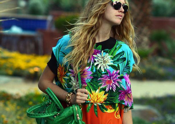 Chiara Ferrani Prada sunglasses