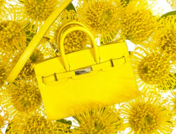 Hermes-Birkin-Yellow-Mini, Leather Forever Exhibition