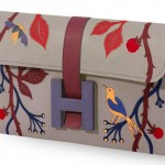 Hermes Jige Flower Clutch