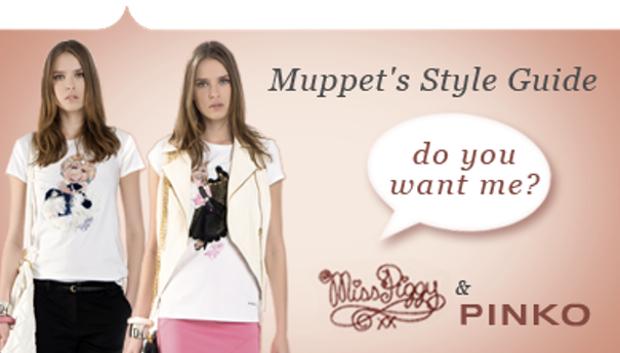 Miss Piggy Pinko T-shirts, Rakas