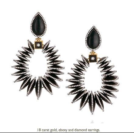 SILVIA FURMANOVICH earrings