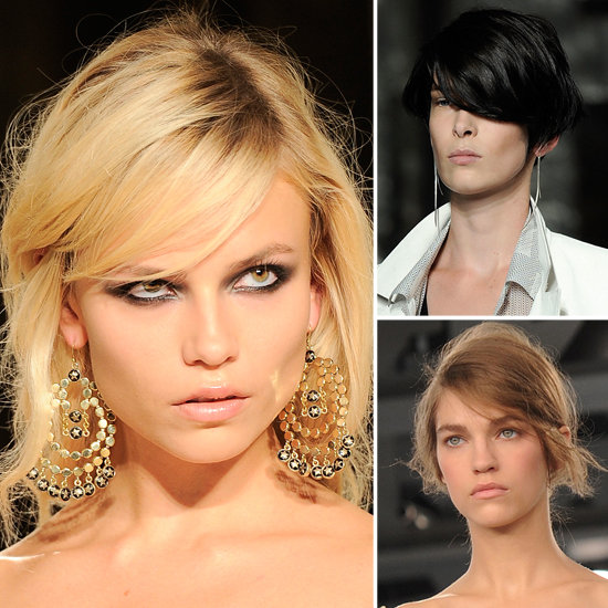 Side swoop trend 2012 Runway