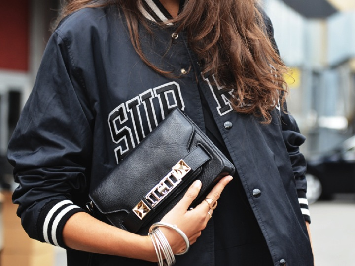 Bomber sporty jacket