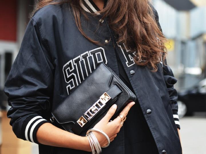 Bomber sporty jacket