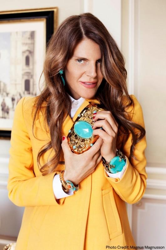Anna Dello Russo accessories for H and M