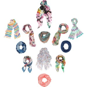 Collage Foulards Spring Summer 2012