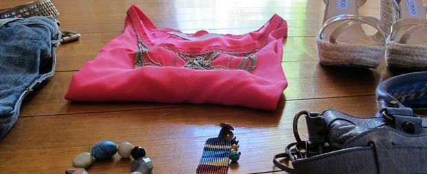 Pink Top, boho chic bracelets