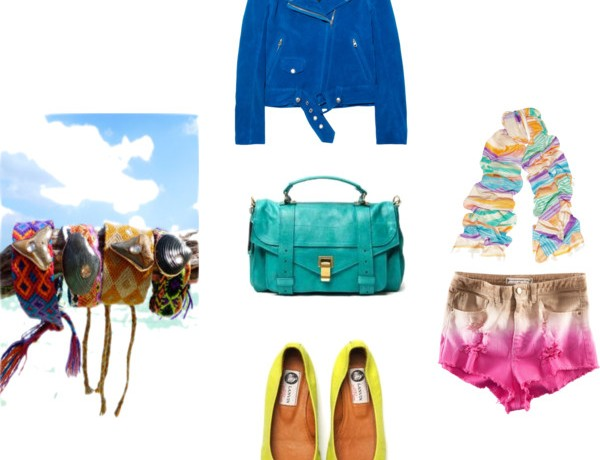 Collage, Island Wishlist, Ballerina flats, shorts