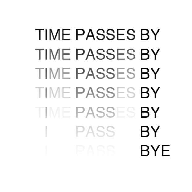 Anatol Knotek TIME PASSES BY